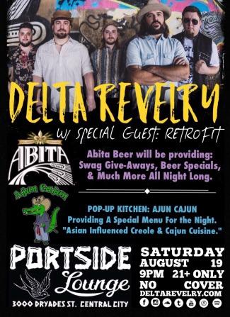 Delta Revelry at Portside Lounge - 2017.08.19