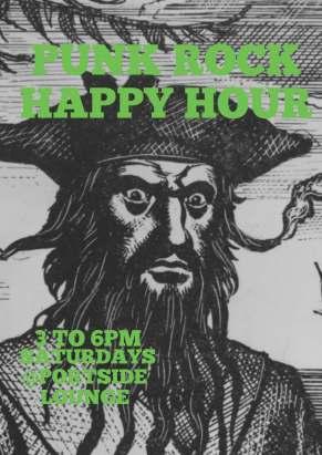 Punk Rock Happy Hour Pirate