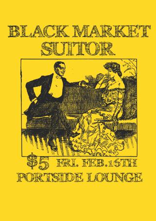 black suitor